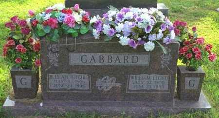 RITCHIE GABBARD, BEULAH - Madison County, Arkansas | BEULAH RITCHIE GABBARD - Arkansas Gravestone Photos