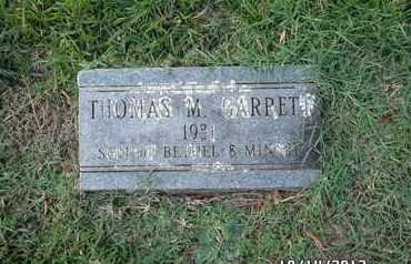 GARRETT, THOMAS M - Madison County, Arkansas | THOMAS M GARRETT - Arkansas Gravestone Photos