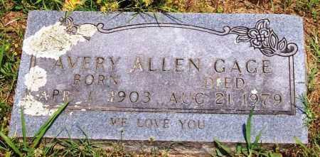 GAGE, AVERY ALLEN - Madison County, Arkansas   AVERY ALLEN GAGE - Arkansas Gravestone Photos