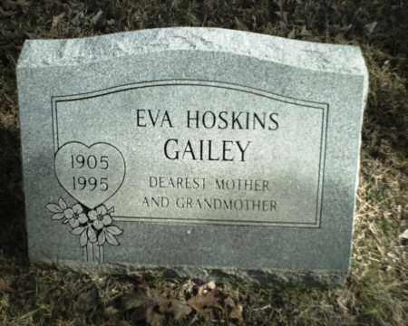 GAILEY, EVA - Madison County, Arkansas | EVA GAILEY - Arkansas Gravestone Photos