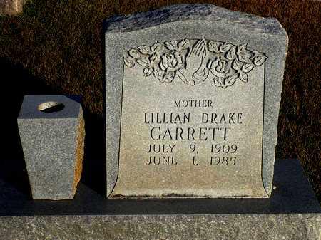 DRAKE GARRETT, LILLIAN - Madison County, Arkansas | LILLIAN DRAKE GARRETT - Arkansas Gravestone Photos