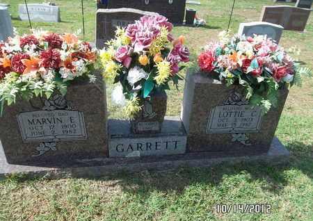 GARRETT, MARVIN E - Madison County, Arkansas   MARVIN E GARRETT - Arkansas Gravestone Photos