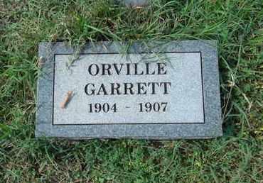 GARRETT, ORVILLE - Madison County, Arkansas | ORVILLE GARRETT - Arkansas Gravestone Photos