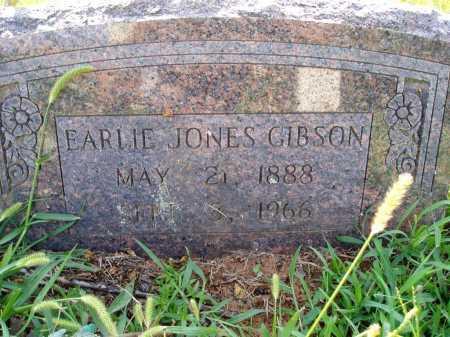 GIBSON, EARLIE JONES - Madison County, Arkansas   EARLIE JONES GIBSON - Arkansas Gravestone Photos