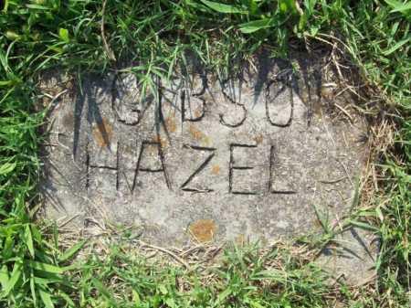 GIBSON, HAZEL - Madison County, Arkansas   HAZEL GIBSON - Arkansas Gravestone Photos