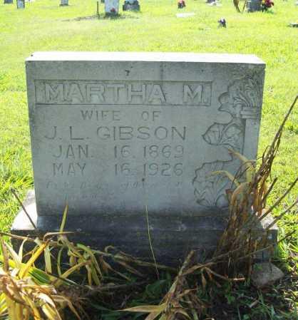 HARWOOD GIBSON, MARTHA M. - Madison County, Arkansas | MARTHA M. HARWOOD GIBSON - Arkansas Gravestone Photos