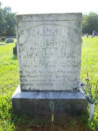 "GIBSON, NOAH MAXWELL ""MACK"" - Madison County, Arkansas | NOAH MAXWELL ""MACK"" GIBSON - Arkansas Gravestone Photos"