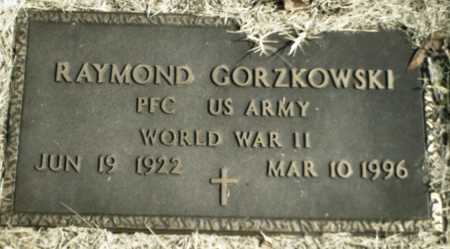 GORZKOWSKI  (VETERAN WWII), RAYMOND - Madison County, Arkansas | RAYMOND GORZKOWSKI  (VETERAN WWII) - Arkansas Gravestone Photos