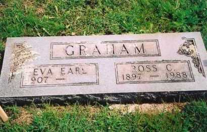 GRAHAM, EVA EARL - Madison County, Arkansas | EVA EARL GRAHAM - Arkansas Gravestone Photos