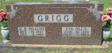 GRIGG, EVA OLLIE - Madison County, Arkansas | EVA OLLIE GRIGG - Arkansas Gravestone Photos