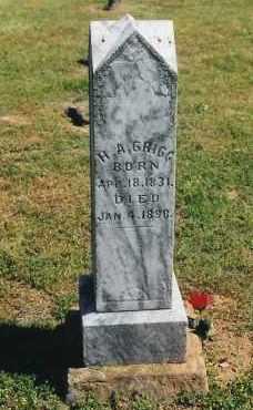 GRIGG, HENRY AMASA - Madison County, Arkansas | HENRY AMASA GRIGG - Arkansas Gravestone Photos