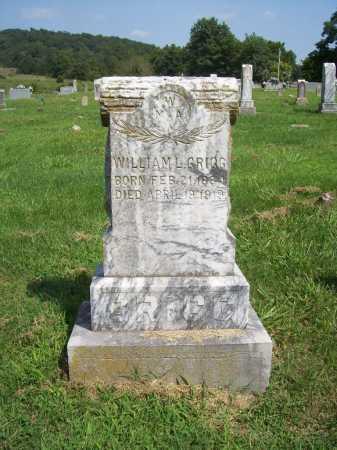 GRIGG, WILLIAM L. - Madison County, Arkansas | WILLIAM L. GRIGG - Arkansas Gravestone Photos