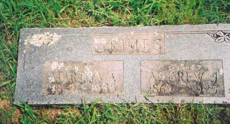 GRIMES, ANDREW J. - Madison County, Arkansas | ANDREW J. GRIMES - Arkansas Gravestone Photos