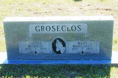 GROSECLOS, SQUIRE MONROE - Madison County, Arkansas | SQUIRE MONROE GROSECLOS - Arkansas Gravestone Photos