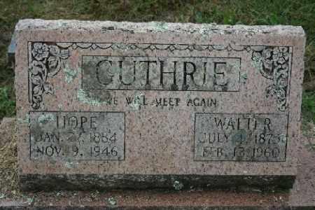 GUTHRIE, WALTER - Madison County, Arkansas   WALTER GUTHRIE - Arkansas Gravestone Photos