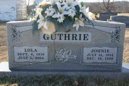 HANSON GUTHRIE, LOLA IRENE - Madison County, Arkansas | LOLA IRENE HANSON GUTHRIE - Arkansas Gravestone Photos