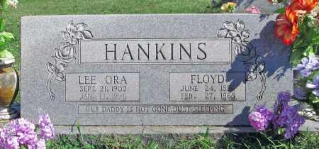 SAULSBURY HANKINS, LEE ORA - Madison County, Arkansas | LEE ORA SAULSBURY HANKINS - Arkansas Gravestone Photos