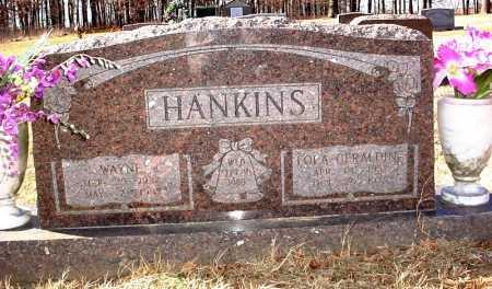 HANKINS, LOLA GERALDINE - Madison County, Arkansas | LOLA GERALDINE HANKINS - Arkansas Gravestone Photos
