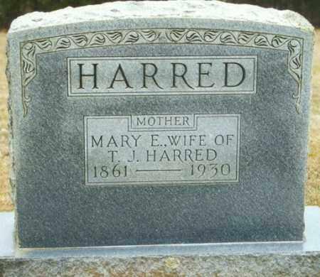 HARRED, MARY E. - Madison County, Arkansas | MARY E. HARRED - Arkansas Gravestone Photos