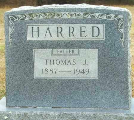 HARRED, THOMAS J. - Madison County, Arkansas   THOMAS J. HARRED - Arkansas Gravestone Photos