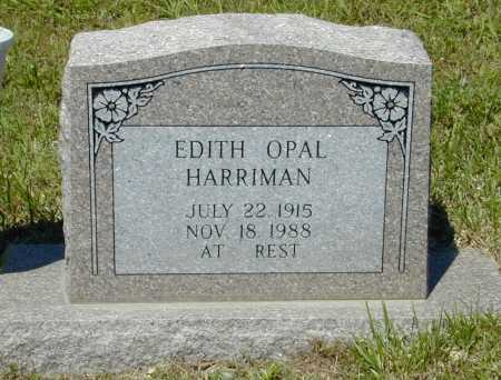 HARRIMAN, EDITH OPAL - Madison County, Arkansas | EDITH OPAL HARRIMAN - Arkansas Gravestone Photos