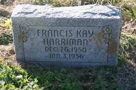 HARRIMAN, FRANCIS KAY - Madison County, Arkansas | FRANCIS KAY HARRIMAN - Arkansas Gravestone Photos