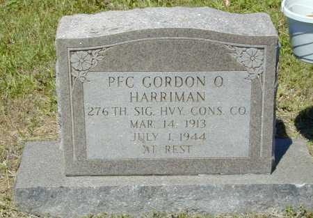 HARRIMAN (VETERAN), GORDON O - Madison County, Arkansas   GORDON O HARRIMAN (VETERAN) - Arkansas Gravestone Photos
