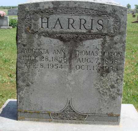 HARRIS, THOMAS MILTON - Madison County, Arkansas | THOMAS MILTON HARRIS - Arkansas Gravestone Photos