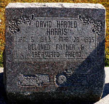 HARRIS, DAVID HAROLD - Madison County, Arkansas | DAVID HAROLD HARRIS - Arkansas Gravestone Photos