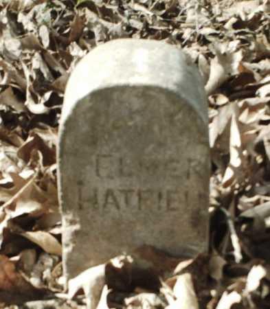 HATFIELD, ELMER - Madison County, Arkansas | ELMER HATFIELD - Arkansas Gravestone Photos