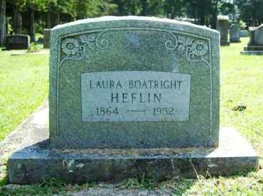 BOATRIGHT HEFLIN, LAURA - Madison County, Arkansas | LAURA BOATRIGHT HEFLIN - Arkansas Gravestone Photos