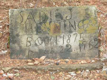 COBB HENNING, SADIE J. - Madison County, Arkansas | SADIE J. COBB HENNING - Arkansas Gravestone Photos