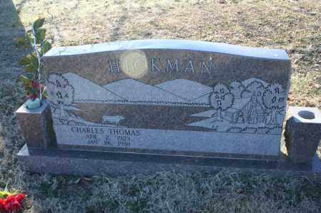 HICKMAN, CHARLES THOMAS - Madison County, Arkansas | CHARLES THOMAS HICKMAN - Arkansas Gravestone Photos