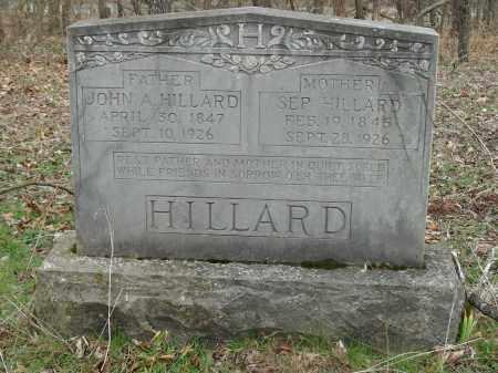 HILLARD, JOHN A. - Madison County, Arkansas | JOHN A. HILLARD - Arkansas Gravestone Photos