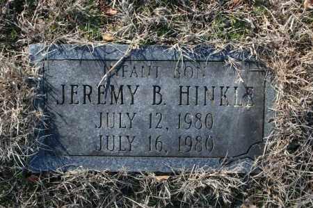 HINKLE, JEREMY B. - Madison County, Arkansas   JEREMY B. HINKLE - Arkansas Gravestone Photos