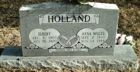 HOLLAND, ELBERT - Madison County, Arkansas | ELBERT HOLLAND - Arkansas Gravestone Photos