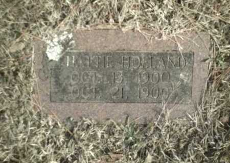 HOLLAND, HATTIE - Madison County, Arkansas | HATTIE HOLLAND - Arkansas Gravestone Photos