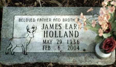 HOLLAND, JAMES EARL - Madison County, Arkansas | JAMES EARL HOLLAND - Arkansas Gravestone Photos