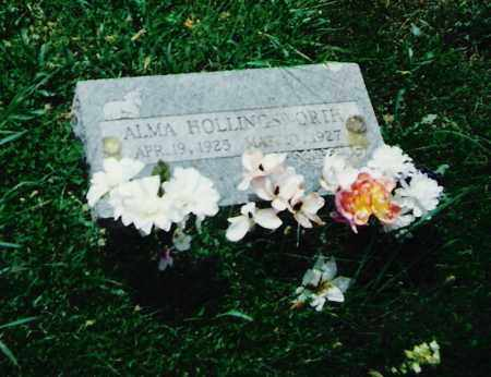 HOLLINGSWORTH, ALMA - Madison County, Arkansas | ALMA HOLLINGSWORTH - Arkansas Gravestone Photos