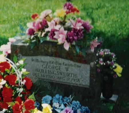 HOLLINGSWORTH, GEORGE W. - Madison County, Arkansas | GEORGE W. HOLLINGSWORTH - Arkansas Gravestone Photos