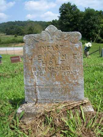 HOLT, INFANT SON - Madison County, Arkansas | INFANT SON HOLT - Arkansas Gravestone Photos