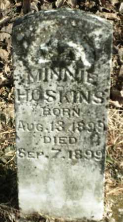 HOSKINS, MINNIE - Madison County, Arkansas | MINNIE HOSKINS - Arkansas Gravestone Photos