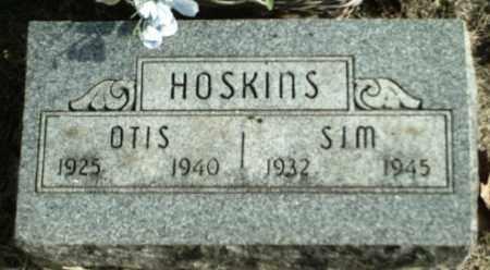 HOSKINS, OTIS - Madison County, Arkansas | OTIS HOSKINS - Arkansas Gravestone Photos