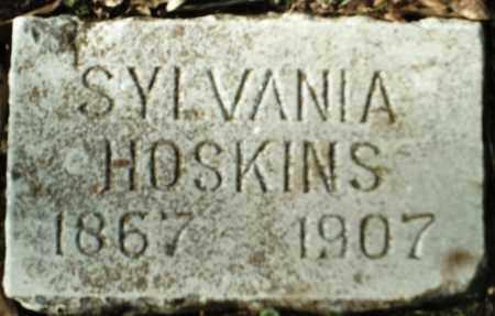 HOSKINS, SYLVANIA - Madison County, Arkansas   SYLVANIA HOSKINS - Arkansas Gravestone Photos