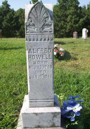 HOWELL, ALFRED - Madison County, Arkansas | ALFRED HOWELL - Arkansas Gravestone Photos