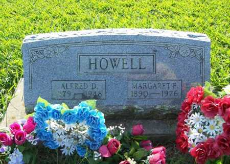 HOWELL, ALFRED D. - Madison County, Arkansas | ALFRED D. HOWELL - Arkansas Gravestone Photos