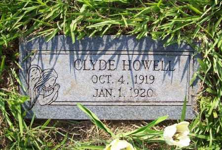 HOWELL, CLYDE - Madison County, Arkansas   CLYDE HOWELL - Arkansas Gravestone Photos