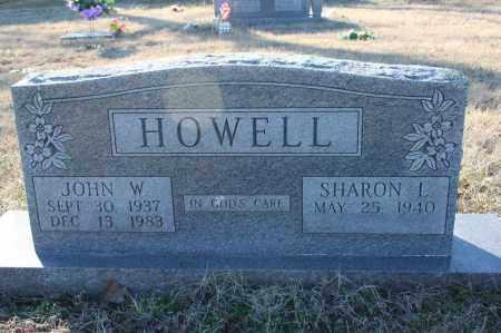 HOWELL, JOHN W. - Madison County, Arkansas | JOHN W. HOWELL - Arkansas Gravestone Photos