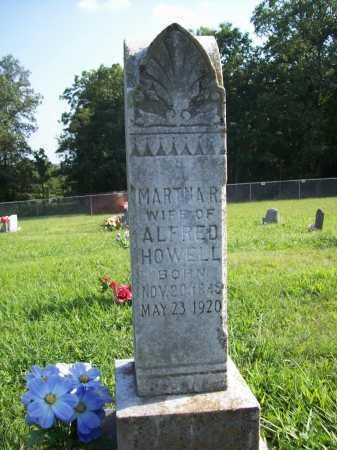 HOWELL, MARTHA R. - Madison County, Arkansas   MARTHA R. HOWELL - Arkansas Gravestone Photos