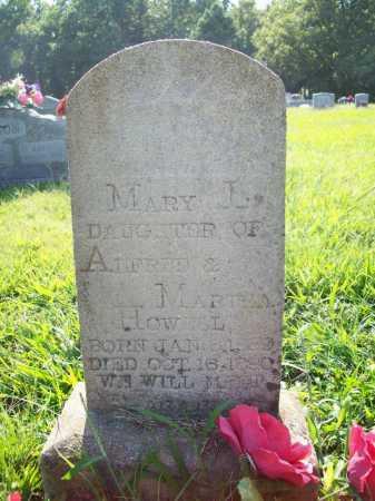 HOWELL, MARY L. - Madison County, Arkansas   MARY L. HOWELL - Arkansas Gravestone Photos